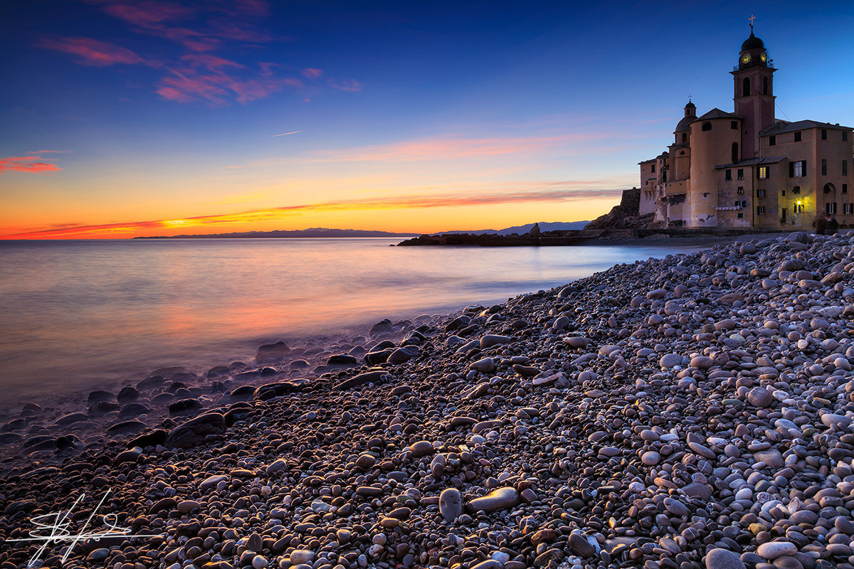Photograph Camogli sunset by Stefano  Viola on 500px