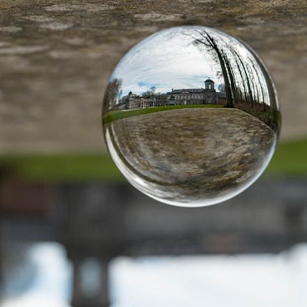Le château de Seneffe sans sa bulle