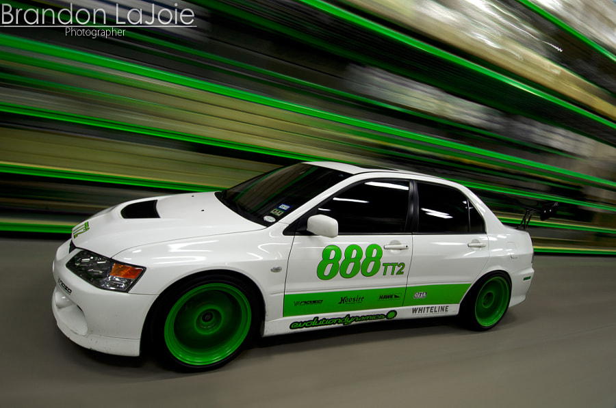 Josh Dunn's Time Attack Evo IX