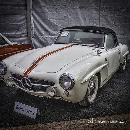 Old Mercedes, Nikon D800, AF-S Zoom-Nikkor 28-70mm f/2.8D IF-ED