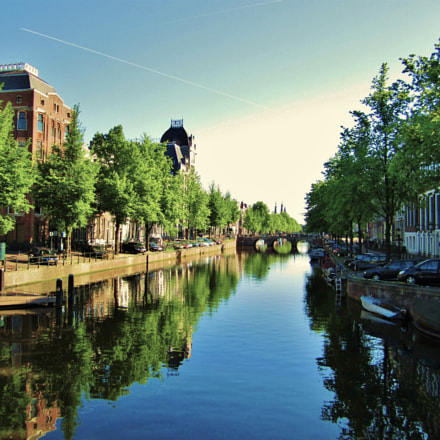 Amsterdam Canal, Canon POWERSHOT SD1400 IS