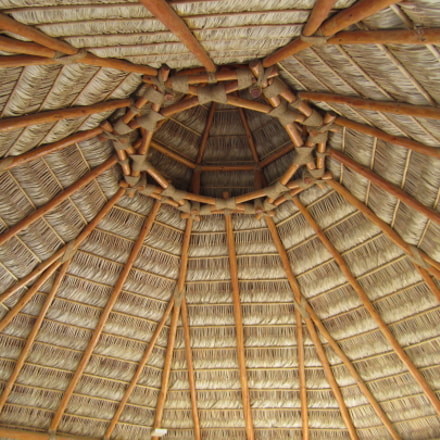 Cabo Wood Thatched Hut, Canon POWERSHOT SD1400 IS