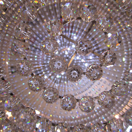 Crystal Chandelier, Canon POWERSHOT SD1400 IS