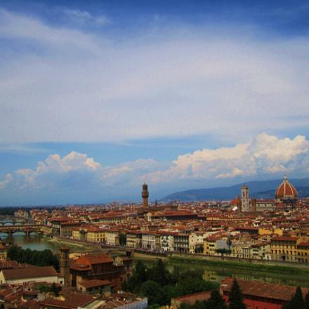 Florence Skyline, Canon POWERSHOT SD1400 IS