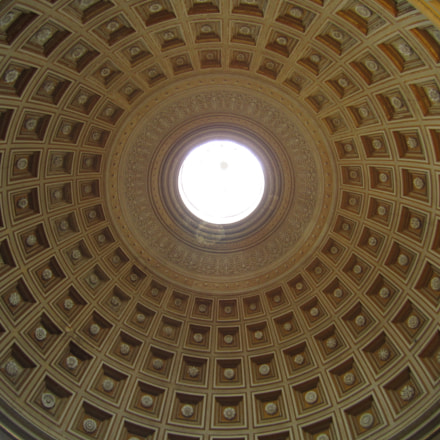 Vatican Dome, Canon POWERSHOT SD1400 IS