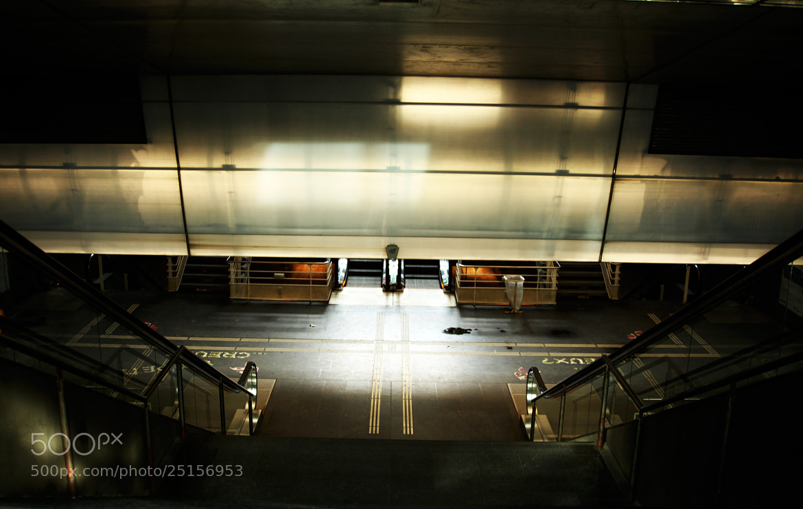 Photograph underground by alain scheiber on 500px