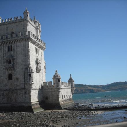 Lisbon ocean fort, Fujifilm FinePix J10