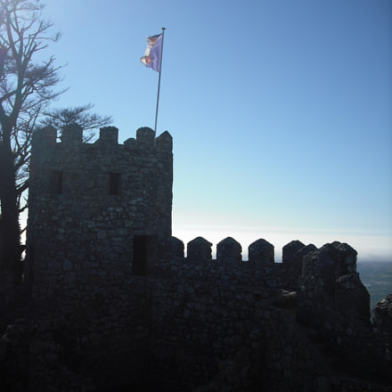 Sunset Castle view, Fujifilm FinePix J10