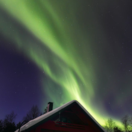 Northern Lights in Levi I