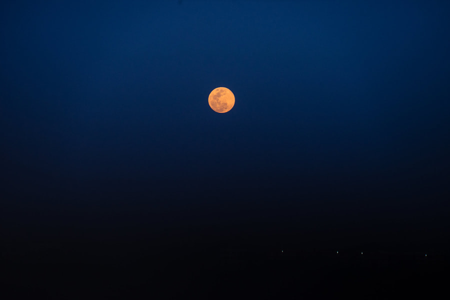 A full moon night月圆之夜, автор — 凌玻微步  на 500px.com