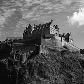 Edinburgh Castle by CleaLlyfr ) on 500px.com