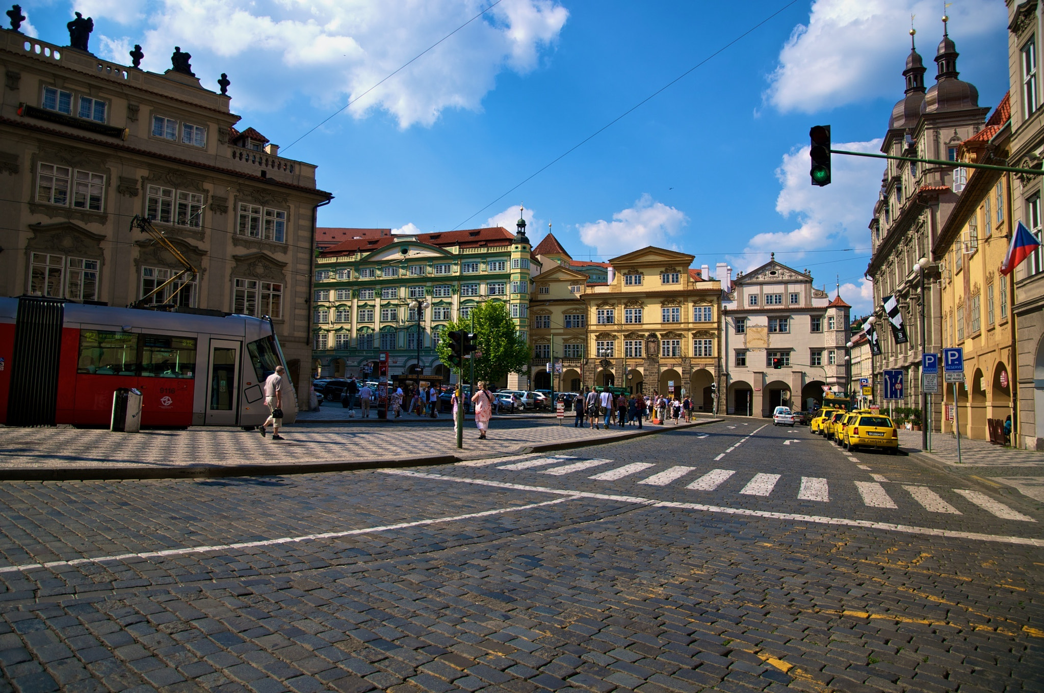 Photograph Streets of Prague by George Bit-Yunan on 500px