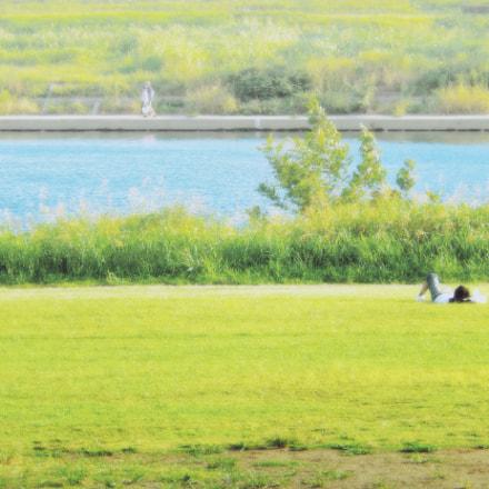 sunny place, Nikon COOLPIX S9500