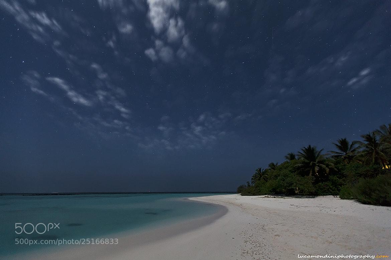 Photograph Maldivian night by Luca Mondini on 500px