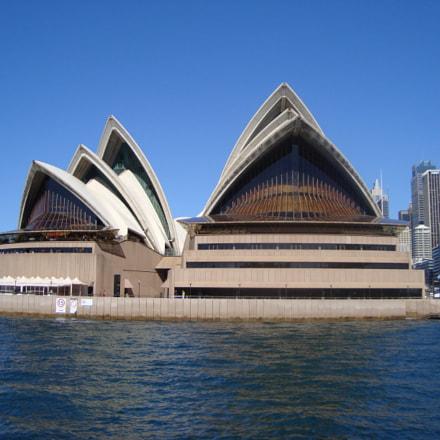sydney opera house, Sony DSC-W130