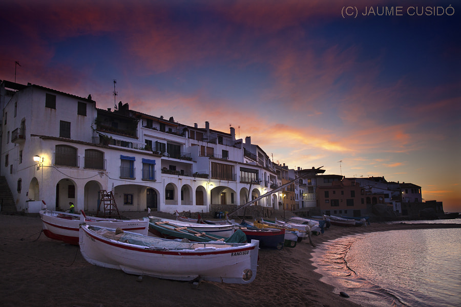 Photograph Calella de Palafrugell by Jaume Cusidó on 500px