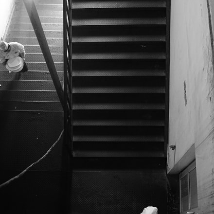 Stairs and chefs, Sony ILCE-6300, Sony FE 28mm F2