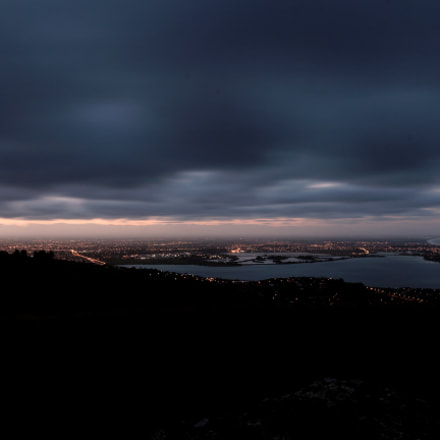 Sunset over Christchurch, Canon EOS 60D, Tamron SP AF 17-50mm f/2.8 XR Di II VC LD Aspherical [IF]