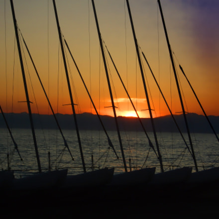 Sundown after sailing, Fujifilm FinePix F50fd