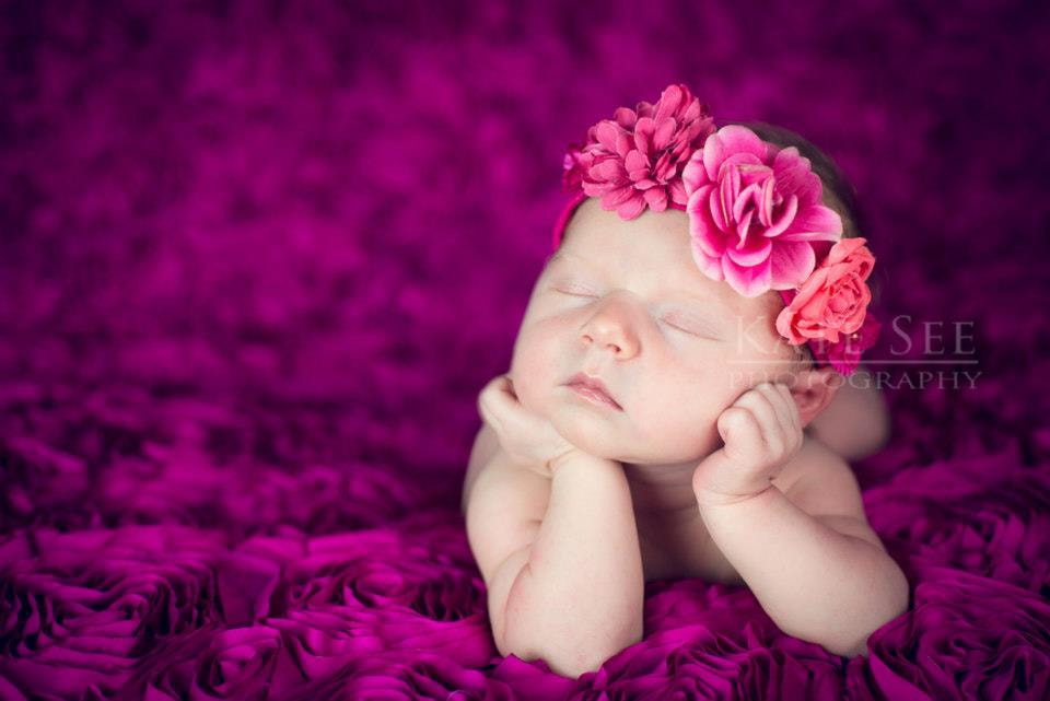 Photograph Newborn Baby girl by Kate See on 500px