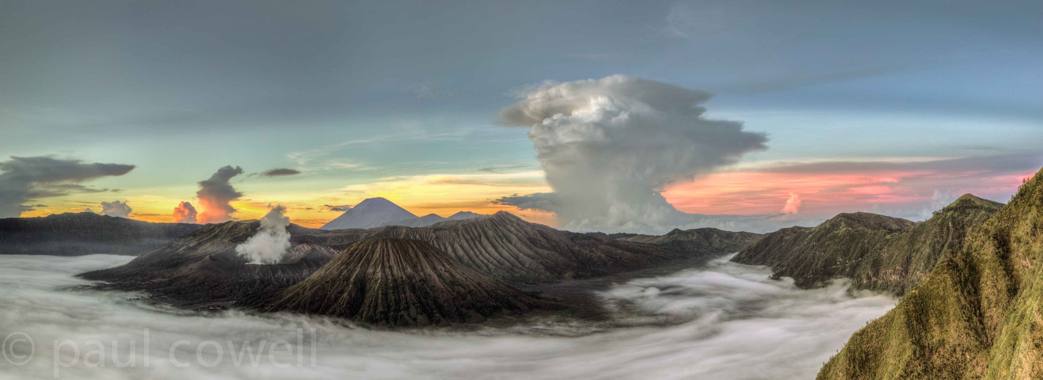 Photograph bromo tengger semaru national park by Paul Cowell on 500px