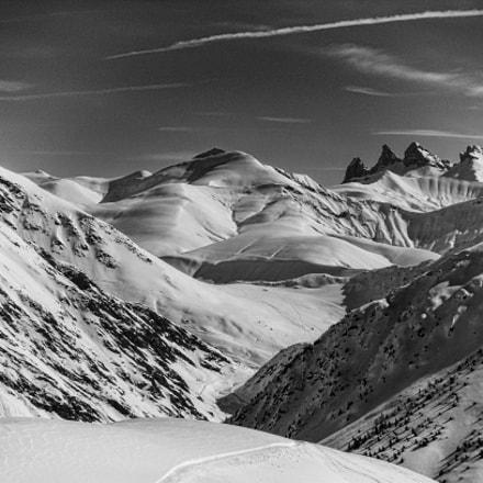 Alpe D'Huez B&W