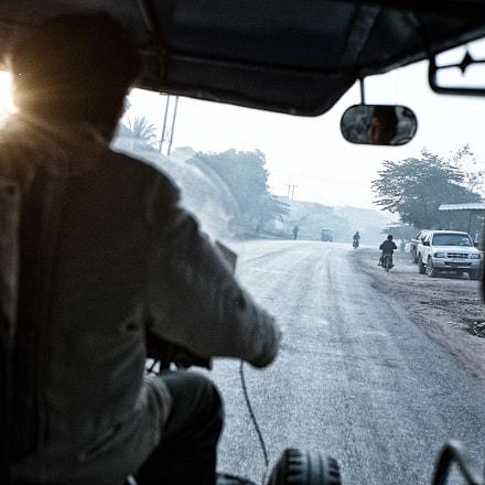 Morning of Laos