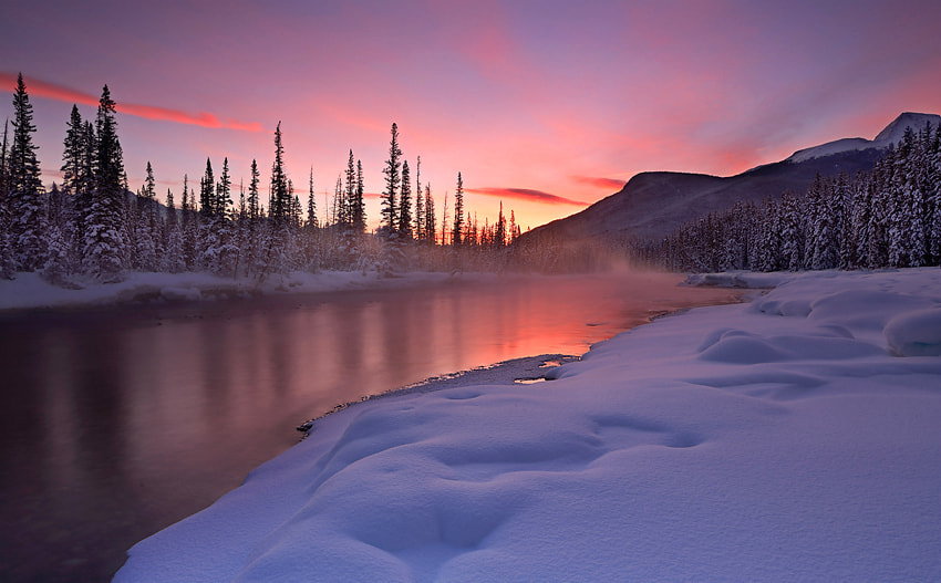 Photograph winter dawn by donald luo on 500px