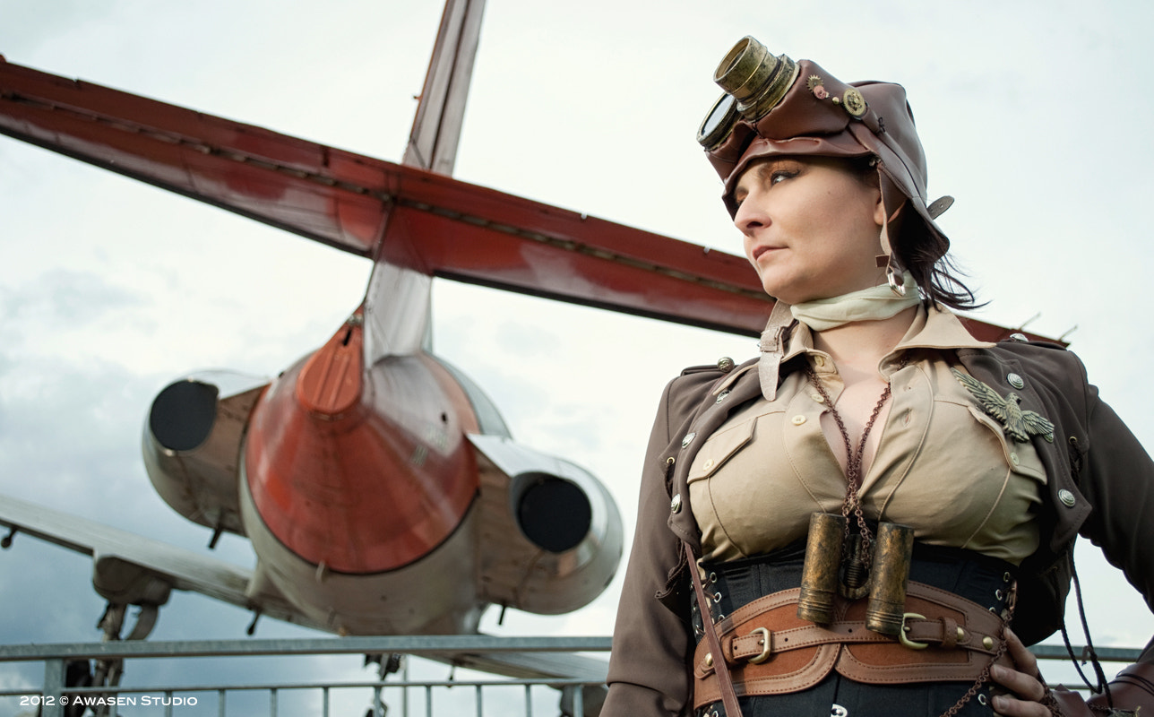Photograph Steampunk Aviator by Laura Mario Pasquinelli on 500px