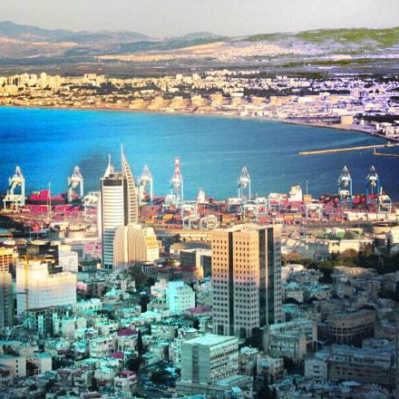 Haifa, Israel, Canon POWERSHOT S45