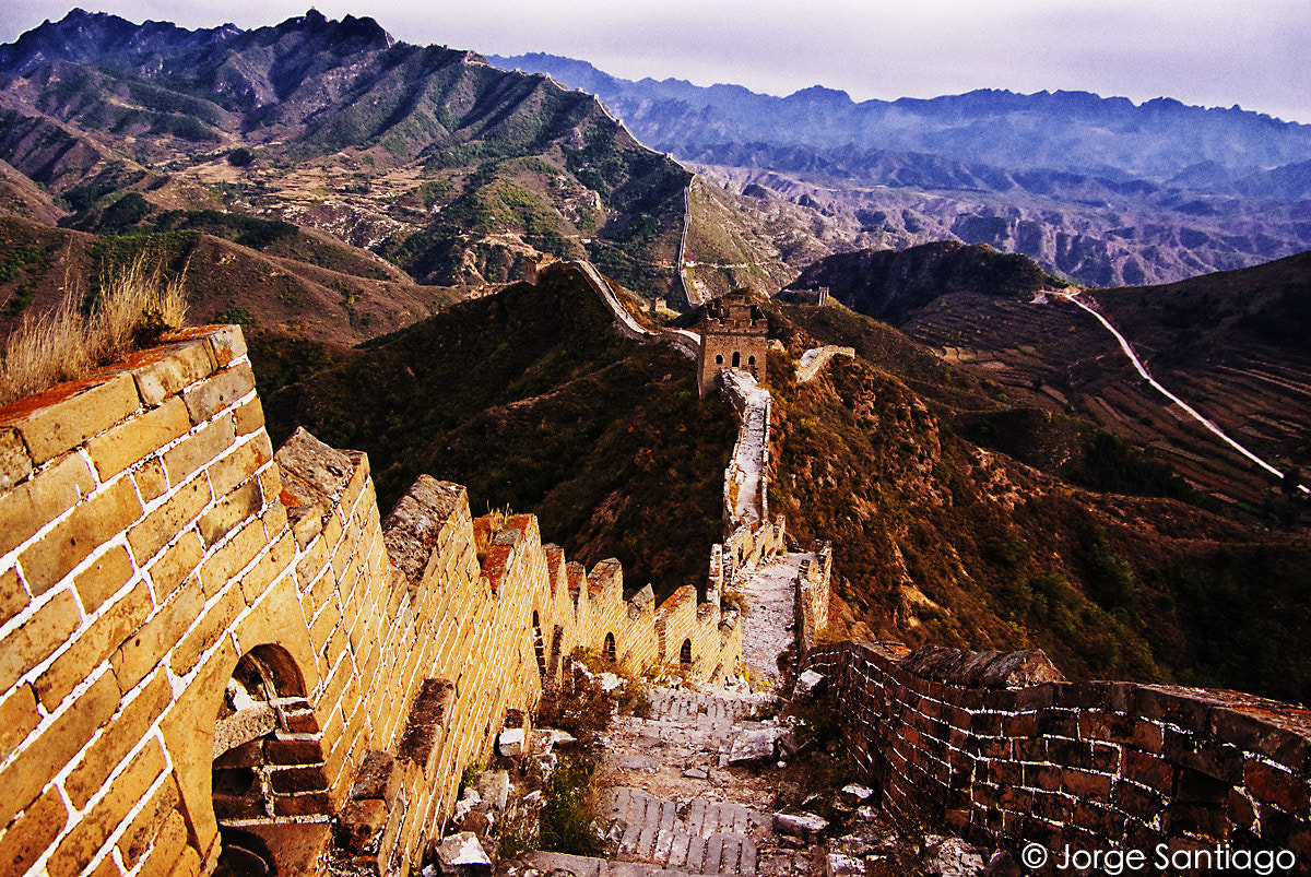 Photograph The Great Wall by jlsantiago on 500px