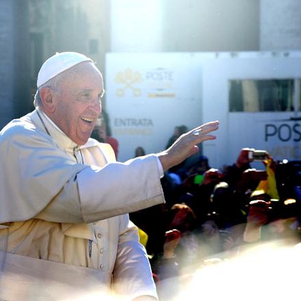 The pope, RICOH PENTAX K-3, smc PENTAX-DA 50-200mm F4-5.6 ED WR