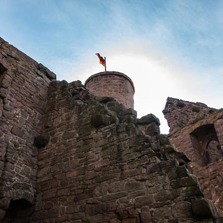 German knight's castle