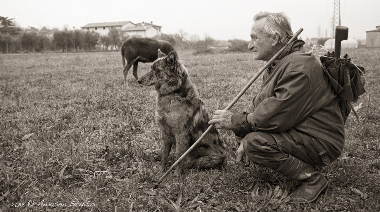 Photograph The shepherd and his dog by Laura Mario Pasquinelli on 500px