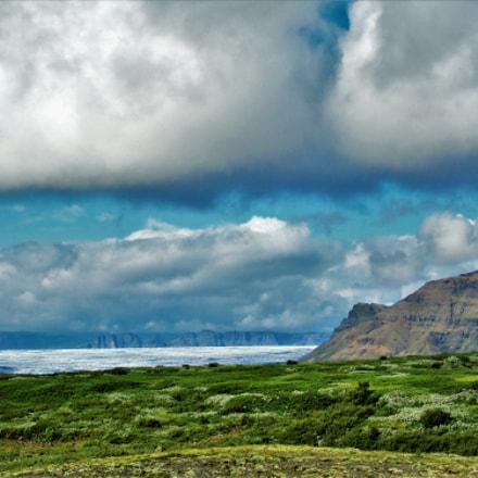 Iceland scenery, Canon POWERSHOT SX210 IS