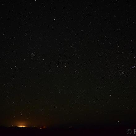 Starry night, Nikon D750