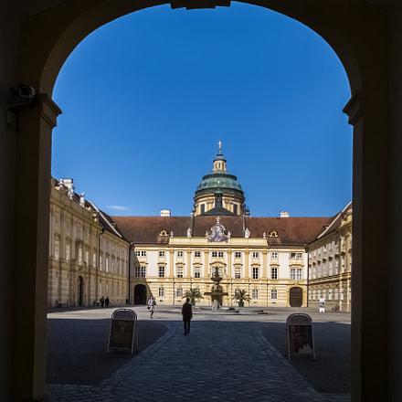 Abbey. Melk. Austria., Fujifilm XQ1