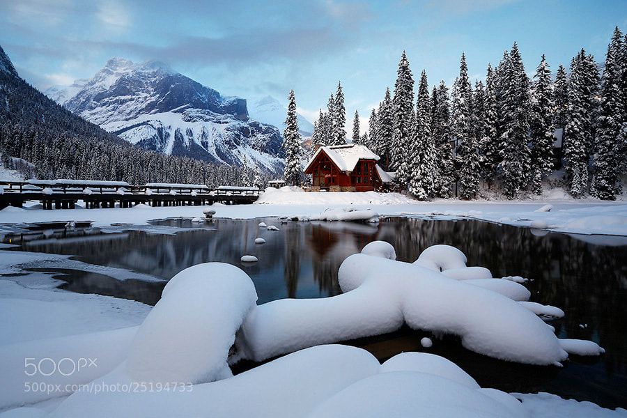 Photograph emerald lake by donald luo on 500px