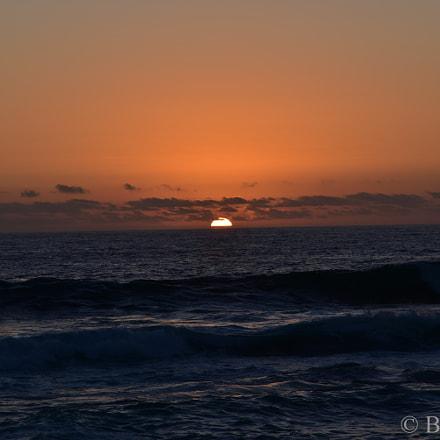 Sunset Pacific Coast, Nikon D750