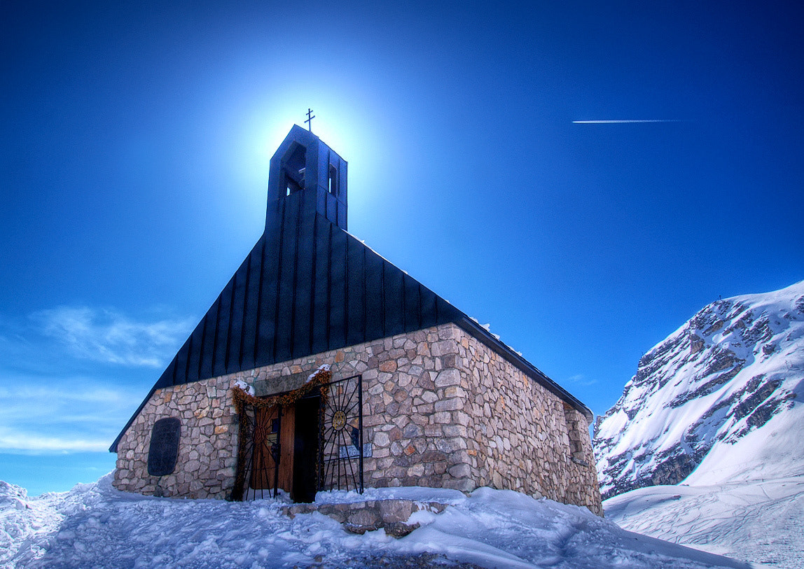 Photograph Alpine Church by Steve Daggar on 500px