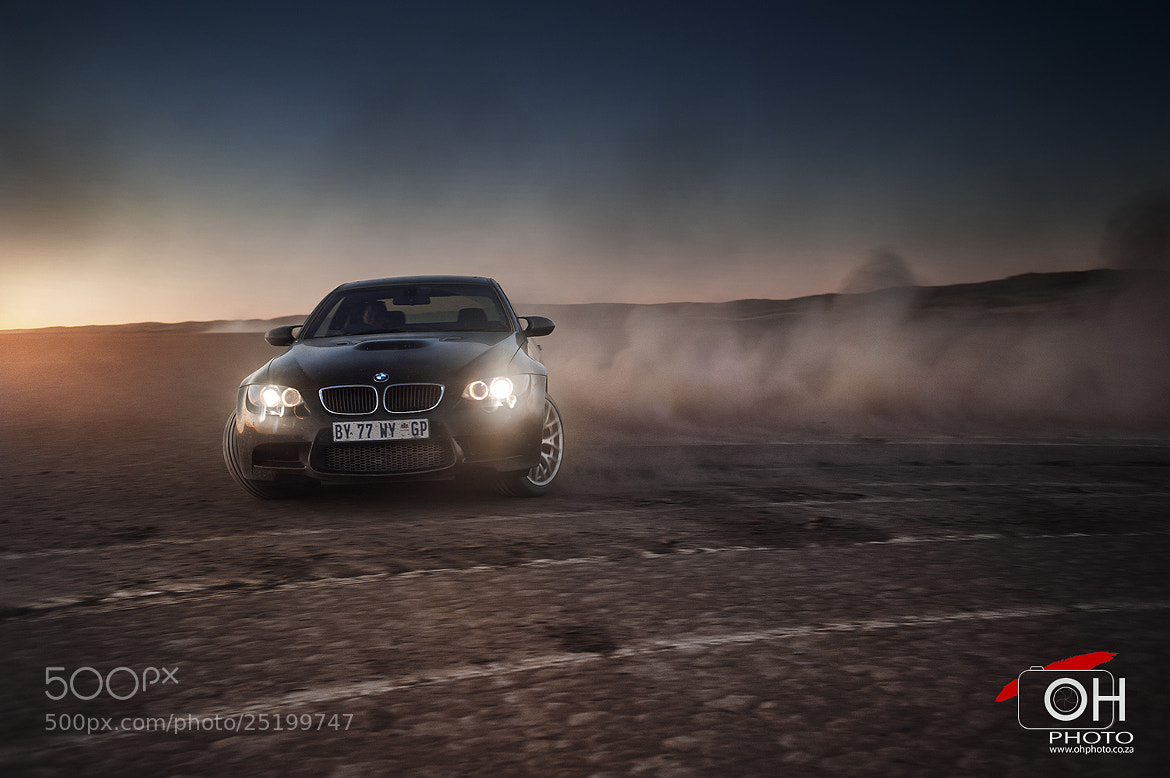 Photograph BMW M3 Sunset Drift by Oliver H on 500px