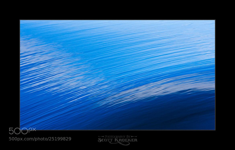 Photograph Blue Wave II by Scott Kroeker on 500px