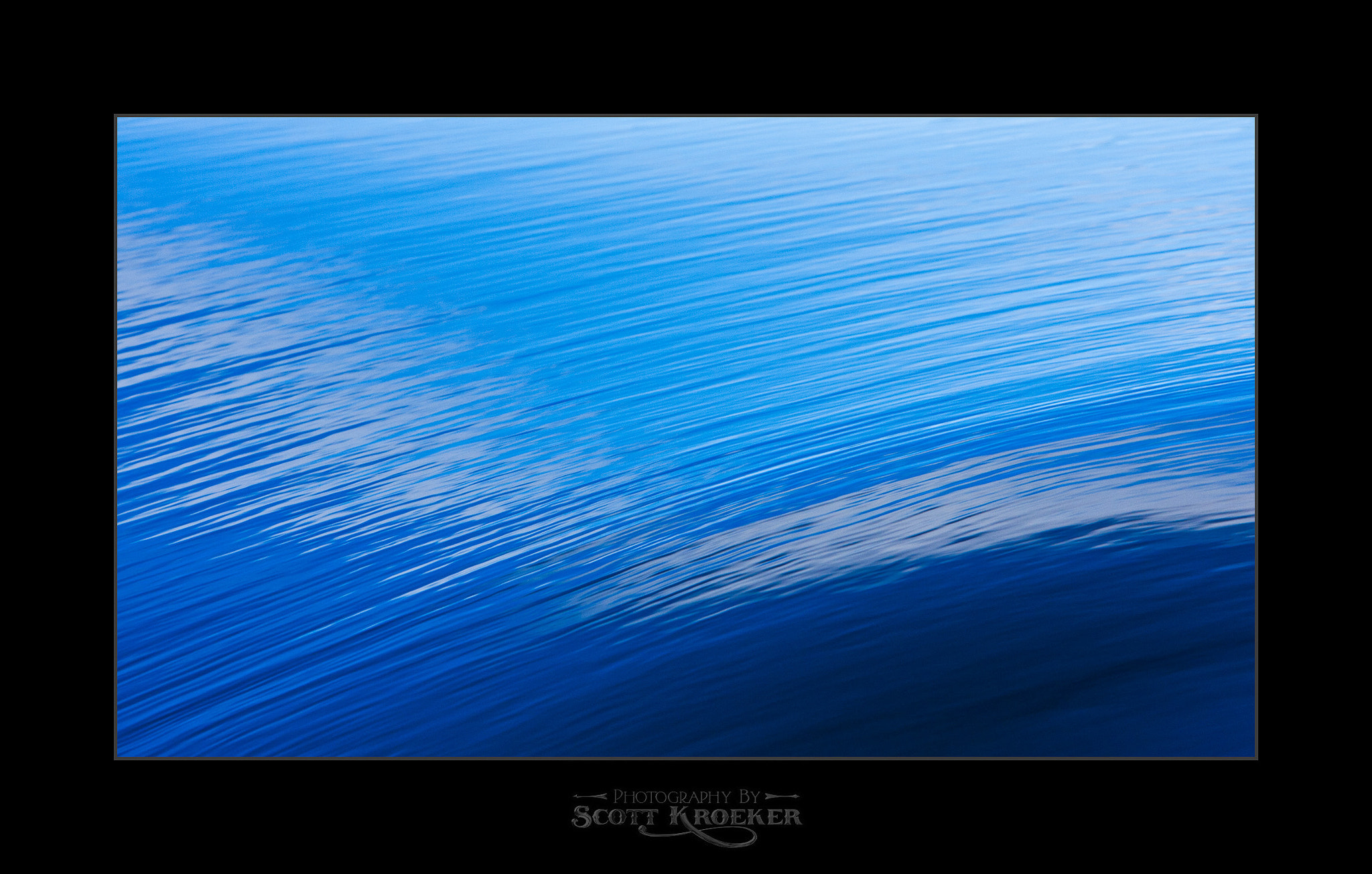 Photograph Blue Wave II by Scott Kroeker on 500px