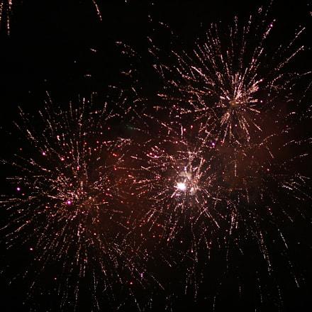 Fireworks 5, Canon EOS 400D DIGITAL, Canon EF 85mm f/1.8 USM