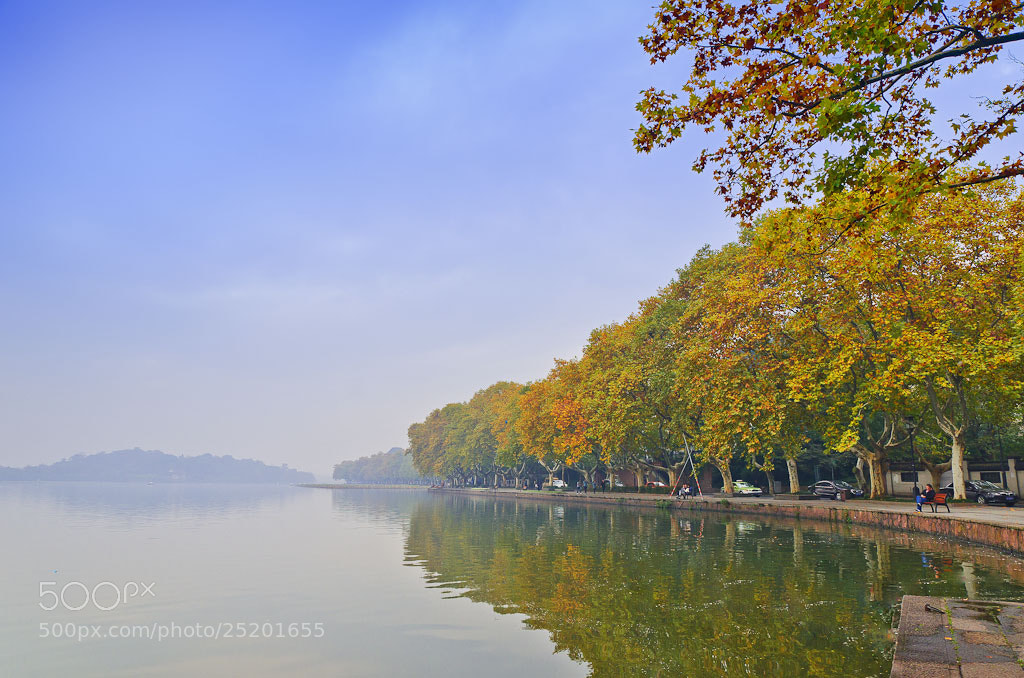 Photograph Autumn of West Lake by Wilson Li on 500px