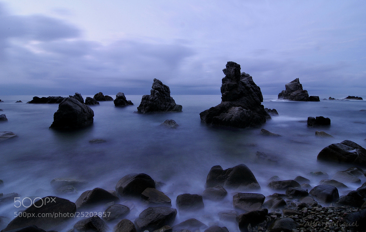 Photograph In blue by Albert Miguel on 500px