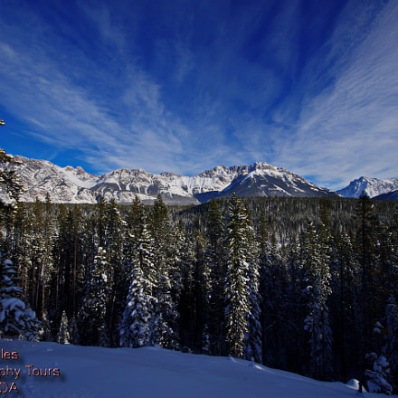 Rocky Mountain Winters Day, Pentax K-5 II S, Sigma AF 10-20mm F4-5.6 EX DC