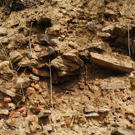 山东省泰安市大汶口镇。瓦砾埋藏层, Nikon D2XS, Tamron SP AF 11-18mm f/4.5-5.6 Di II LD Aspherical (IF) (A13)