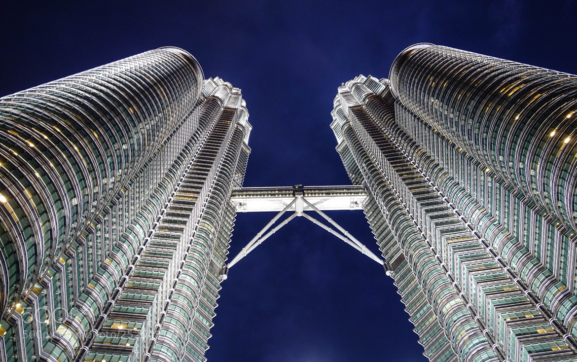 Photograph Petronas Towers by Night by Heshan Jayakody on 500px