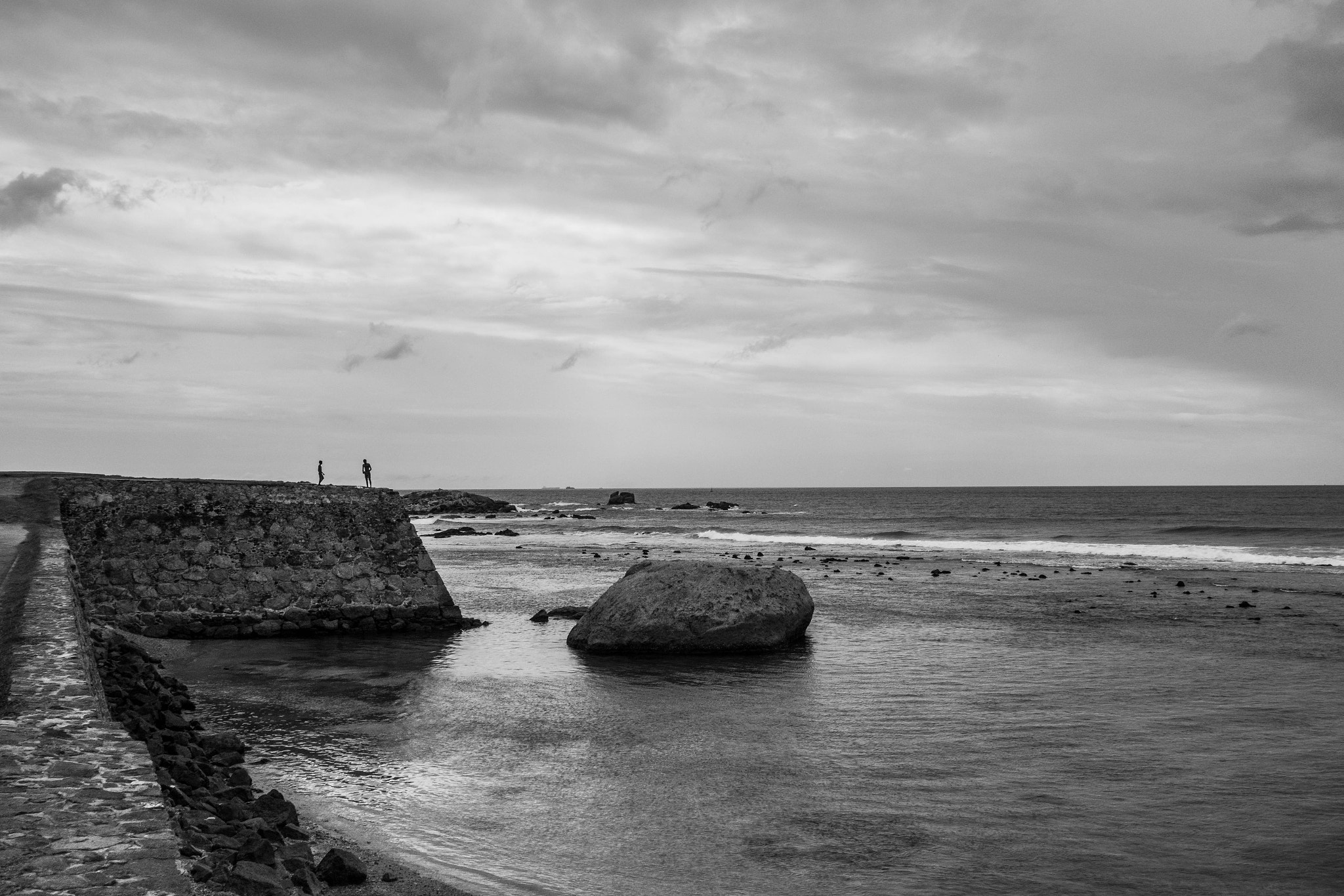 Photograph Sea by the Fort by Heshan Jayakody on 500px